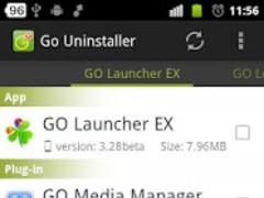 Go Uninstaller 2.4 Screenshot