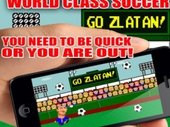 Go Zlatan! Best Football Game 1.2 Screenshot