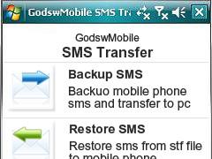 GodswMobile SMS Transfer 2.5 Screenshot