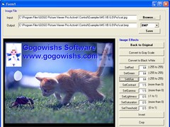 GOGO Picture Viewer Pro ActiveX Control 4.92 Screenshot