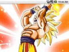 Goku Power Up Live Wallpaper 1.0 Screenshot