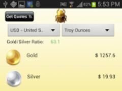Gold & Silver Price Calculator 3.0 Screenshot