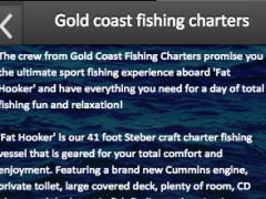 Gold coast fishing charters 2.0 Screenshot