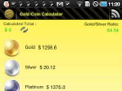 Gold Coin Price Calculator  Screenshot