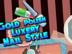 Gold Polish Luxery Nail Style : Diva Colorful Bride Nail Color 1.0 Screenshot