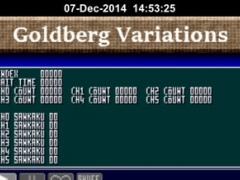 Goldberg Variations on VGS 0.14 Screenshot