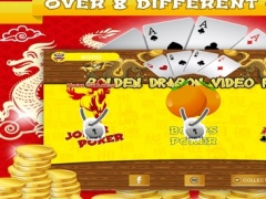 Golden Dragon Video Poker FREE - Jokers Wild, Deuces Wild & More Video-Poker Games 1.0 Screenshot