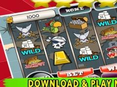 Golden Pirate's Slots Machines FREE - Best New Casino Slots Game 1.2 Screenshot