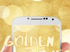 Golden waves for Keyboard 6.0 Screenshot