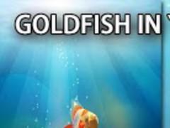 Goldfish In Your Phone LWP 32 Screenshot