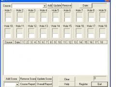 Golf Score Wizard 1.01 Screenshot