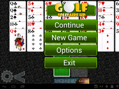 Golf Solitaire HD 1.62 Screenshot