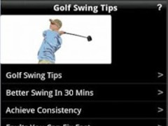 Golf Swing Tips 1.4 Screenshot