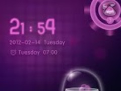 GOLocker BloodySweetLove Theme 1.00 Screenshot