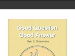 Good Question, Good Answer 1.0 Screenshot