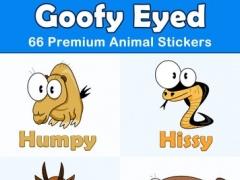 Goofy Eyed Animals Stickers Set 1.0 Screenshot