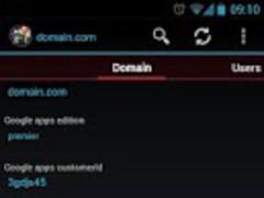Google Apps Console Lite  Screenshot