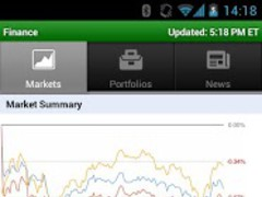 Google Finance 2.2.7 Screenshot
