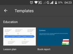 Review Screenshot - Create Presentations on the Move