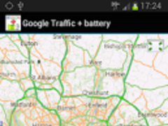 Google Traffic + battery 1.0.1 Screenshot