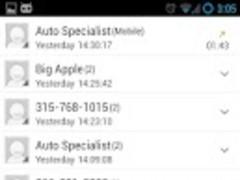 Google UI Go Contacts Theme 2.0 Screenshot