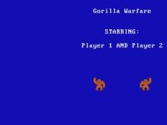 Gorilla Wars 1.0 Screenshot