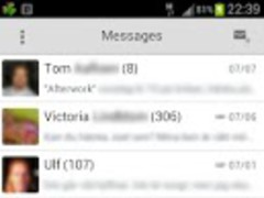 GOSMS Pro ICS Holo Light theme 1.2.1 Screenshot