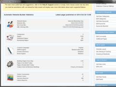 Automatic Website Builder 4.0 Screenshot