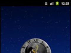 Gothic Violinist Clock 1.01 Screenshot