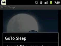 GoTo Sleep 1.1 Screenshot