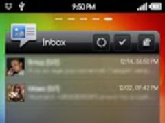 GoWidget theme Sense 2.0 1.1 Screenshot