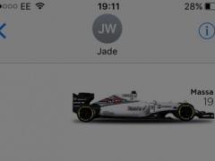 GP F1 driver stickers 1.1 Screenshot