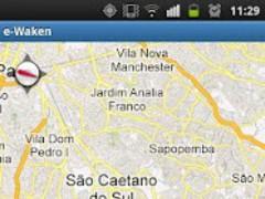 GPS Alarm - eWaken 1.0 Screenshot
