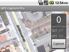 GPS Capture Pro 1.0 Screenshot
