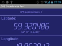 GPS Coordinates Pro 1.3.0 Screenshot