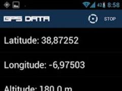GPS Data 0.3 Screenshot