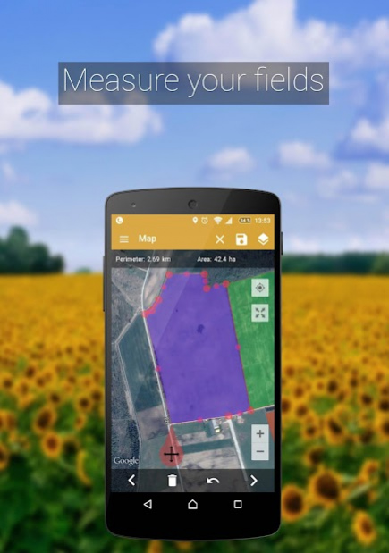 GPS Fields Area Measure PRO 3.8.8 Free Download on measure map tool, measure map pro, edmodo app, measure distance on map, measure map key,