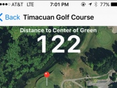 GPS Golf Map 7.0 Screenshot