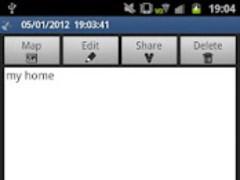 GPS memo plus 2.1.0 Screenshot