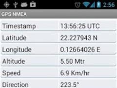 GPS NMEA Tool 1.1 Screenshot