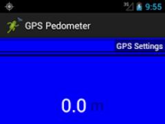 GPS Pedometer Walk/Run Keeper 2.1 Screenshot