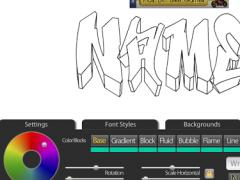 Graffiti Creator Positivos 1.3 Screenshot