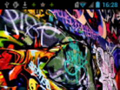 Graffiti Live Wallpaper 1.0 Screenshot