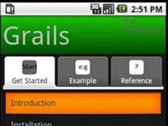 Grails 1.0 Screenshot
