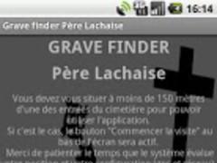 Grave Finder Père Lachaise 1.0.5 Screenshot