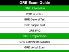 GRE exam guide 1.2 Screenshot