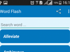 GRE Vocabulary Flash Cards 1.2 Screenshot