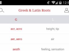 Greek and Latin Roots 3.8 Screenshot
