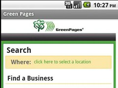 Green Pages 1.3 Screenshot