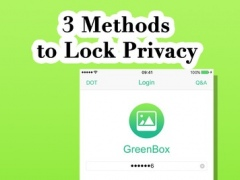 GreenBox - private photo vault to keep safe album 1.0 Screenshot